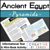 Ancient Egypt Pyramids Reading Handout and Mini Book