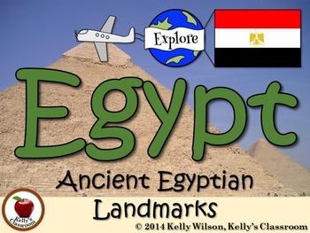 Ancient Egypt Landmarks eBook
