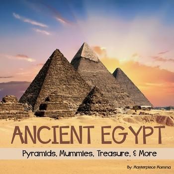 Ancient Egypt: Pyramids, Treasure, Mummies, and More!