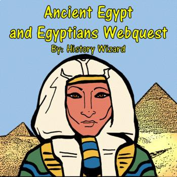 Ancient Egypt Webquest and Journal (2 Lesson Plans)