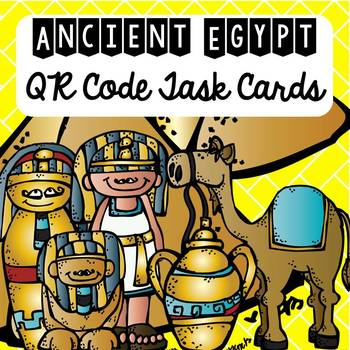 Ancient Egypt QR Code Task Cards