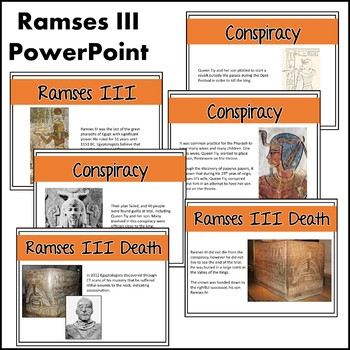 Ancient Egypt: Ramses II & III (Mini Lessons)