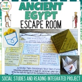 Ancient Egypt Reading Comprehension and Social Studies Activities