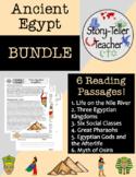 Ancient Egypt Reading Passages BUNDLE
