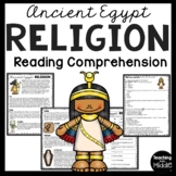 Ancient Egypt Religion, Ancient Civilizations, gods and goddesses
