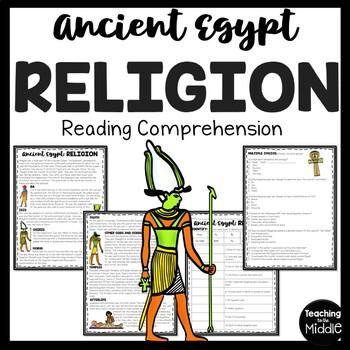 Ancient Egypt Religion, Ancient Civilizations, gods and goddesses