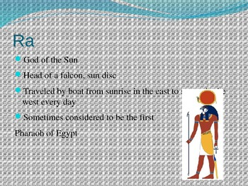 Ancient Egypt Religion and Gods