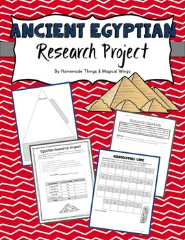 Ancient Egypt Research Project  {3D Pyramids}