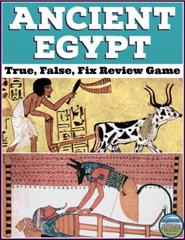 Ancient Egypt Review Game