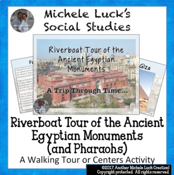 Ancient Egyptian Riverboat Tour on Monument Sites & Pharaohs of Egypt Activity