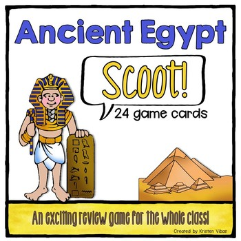 """Ancient Egypt """"SCOOT!"""""""