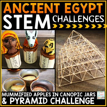Ancient Egypt Activities STEM Challenges | Distance Learning STEM