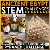 Ancient Egypt Activities STEM Challenges | Ancient Egypt P