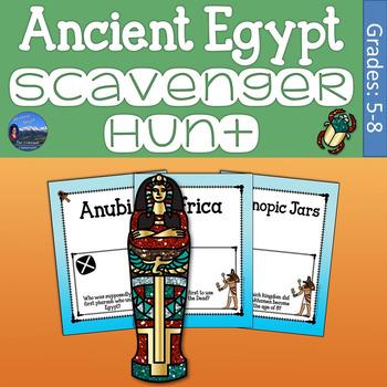 Ancient Egypt Scavenger Hunt
