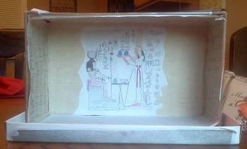 Ancient Egypt Shoebox Project