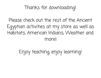 Ancient Egypt Sort