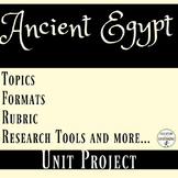 Ancient Egypt Student-centered unit project for Ancient Eg