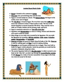 Ancient Egypt Study Guide