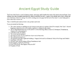 Ancient Egypt Study Guide-Create your own Book of the Dead