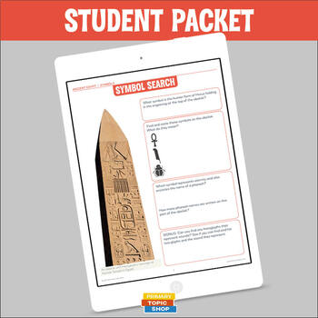 Ancient Egypt - Symbols - Handouts, Activities and Worksheets
