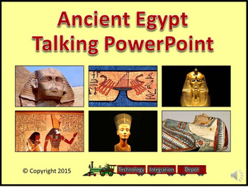 Ancient Egypt Talking PowerPoint & Four Puzzle Pack