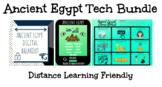 Ancient Egypt Tech Bundle: Breakout, Hyperdoc, & Choice Board