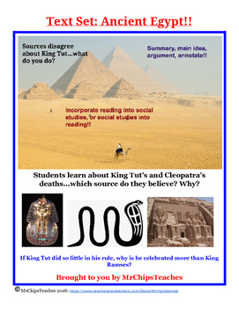 Literacy - Ancient Egypt (Text Set)