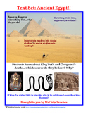 Ancient Egypt - Text Set