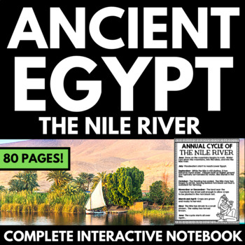 Ancient Egypt Unit - The Nile River - Questions, Information, Project