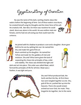Ancient Egypt: The Story of Creation