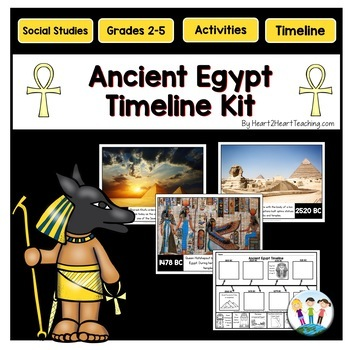 Ancient Egypt Timeline Kit with Posters & Activities