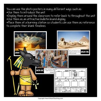 Ancient Civilizations: Ancient Egypt Timeline Kit