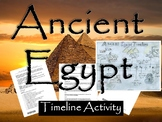Ancient Egypt Timeline Activity