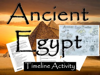 Ancient Egypt Timeline Activity