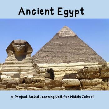 Ancient Egypt Treasure Quest - a Complete Unit Bundle