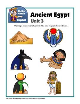 Ancient Egypt Unit 3 Clip Art