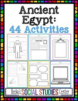 Ancient Egypt Unit: 44 Activities
