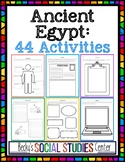 Interactive Notebook for Ancient Egypt - 44 Student-Centered Activities