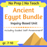 Ancient Egypt Unit **BUNDLE** - Inquiry-Based, Reading Com