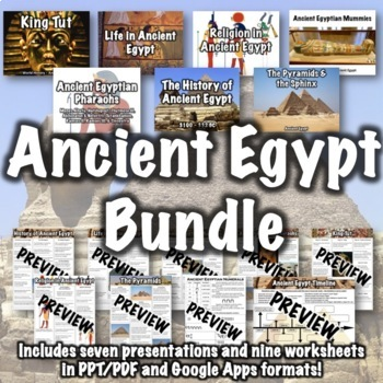 Ancient Egypt Unit Bundle