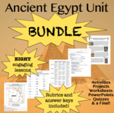 BUNDLE! Ancient Egypt Unit: Eight Activities and Assessments