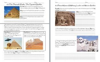 Ancient Egypt Unit - Bundle of Lessons