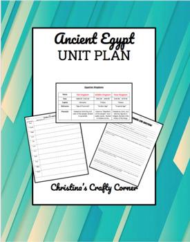 Ancient Egypt Unit Plan