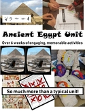 Ancient Egypt Unit Plan Bundle