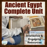 Ancient Egypt COMPLETE UNIT Plans w/Activities on Ancient Egyptian Civilization