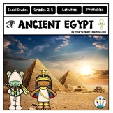 Explore Ancient Egypt Activity Pack with Articles, Activities, Maps, & More!