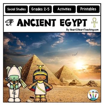 Ancient Civillizations: Ancient Egypt Activities & Complete Unit