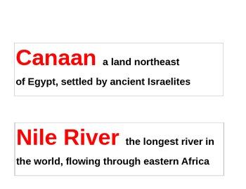 Ancient Egypt Visual Vocabulary