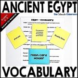 Ancient Egypt - Vocabulary