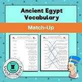 Ancient Egypt Vocabulary Match-Up